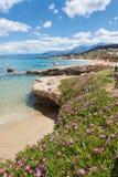 Küste von Chersonissos Lizenzfreie Stockfotografie