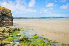 Küste von Cornwall lizenzfreie stockbilder