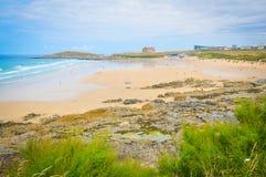 Küste von Cornwall stockfoto