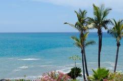 Küste von Costa Adeje Teneriffa-Insel, Canaries, Spanien Lizenzfreies Stockbild
