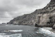 Küste von den Azoren 3 Lizenzfreie Stockfotografie