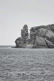 Küste von den Azoren Stockfotografie