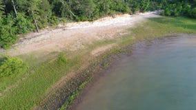 Küste von einem See lizenzfreies stockbild