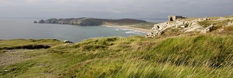Küste von Finistere Stockfotos