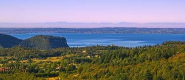 Küste von garda See Stockbild