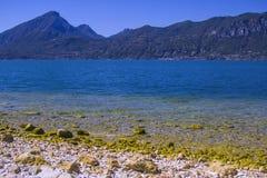 Küste von garda See Lizenzfreies Stockbild