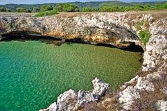 Küste von Gargano lizenzfreie stockfotos