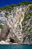 Küste von Gargano stockfoto
