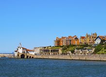 Küste von Getxo stockfotografie