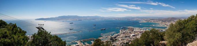 Küste von Gibraltar lizenzfreie stockfotos