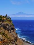 Küste von Gomera stockbilder