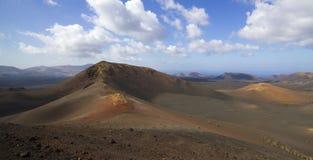 Küste von Kanarischen Inseln Lanzarote stockfoto