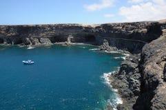 Küste von Kanarischer Insel Fuerteventura lizenzfreies stockfoto
