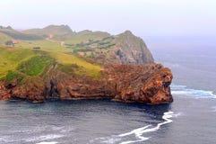 Küste von Kantabrien Lizenzfreie Stockfotografie