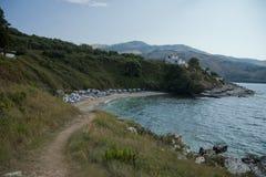 Küste von Korfu Stockbilder