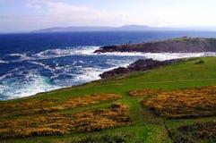 Küste von La Coruña lizenzfreies stockfoto