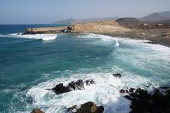 Küste von La geschnitten Stockbild