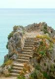 Küste von Ligurien Stockbilder