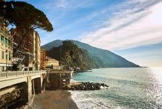 Küste von Ligurien Lizenzfreies Stockbild