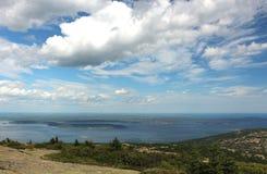 Küste von Maine Lizenzfreies Stockbild