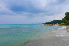 Küste von Meer Stockbild