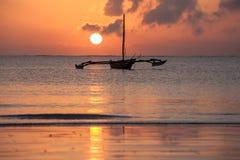 Küste von Mombasa, Kenia, Ozean, Wolken, Küste Stockfoto