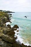 Küste von Noja Lizenzfreie Stockbilder