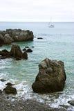 Küste von Noja Stockfoto