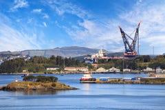 Küste von Norwegen Stockfotos