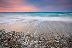 Küste von Ost-Kreta, Griechenland. Lizenzfreie Stockfotos