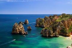 Küste von Portugal Lizenzfreie Stockfotos