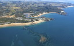Küste von Queensland, Australien Stockfotos