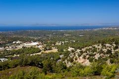 Küste von Rhodos Stockbild