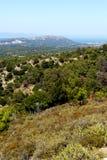 Küste von Rhodos Stockfotografie