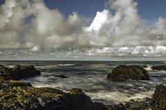 Küste von Süd-Island stockbilder