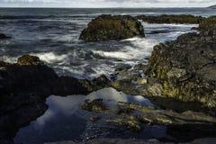 Küste von Süd-Island lizenzfreie stockfotos