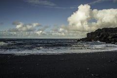 Küste von Süd-Island lizenzfreies stockbild