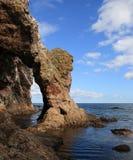 Küste von Sakhalin-Insel Stockbilder