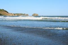 Küste von Sakhalin-Insel Lizenzfreies Stockfoto