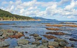Küste von Sakhalin-Insel Lizenzfreies Stockbild