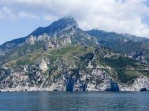Küste von salerno Stockbild