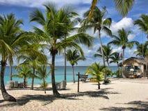 Küste von Santo Domingo, Dominikanische Republik stockfoto