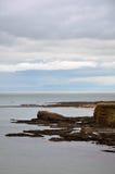 Küste von Schottland Stockbild