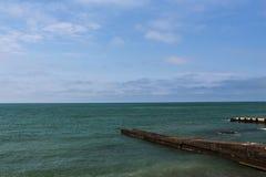 Küste von Schwarzem Meer lizenzfreies stockbild
