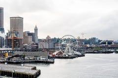 Küste von Seattle lizenzfreies stockfoto