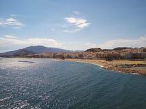 Küste von Spanien Stockbild