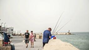 Küste von Tel Aviv stockbild