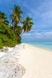Küste von tropischer Insel Lizenzfreie Stockfotografie