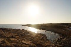 Küste von Zypern Lizenzfreie Stockfotos