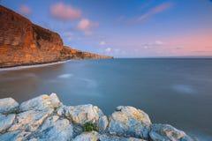 Küste in Wales, Großbritannien Lizenzfreies Stockfoto